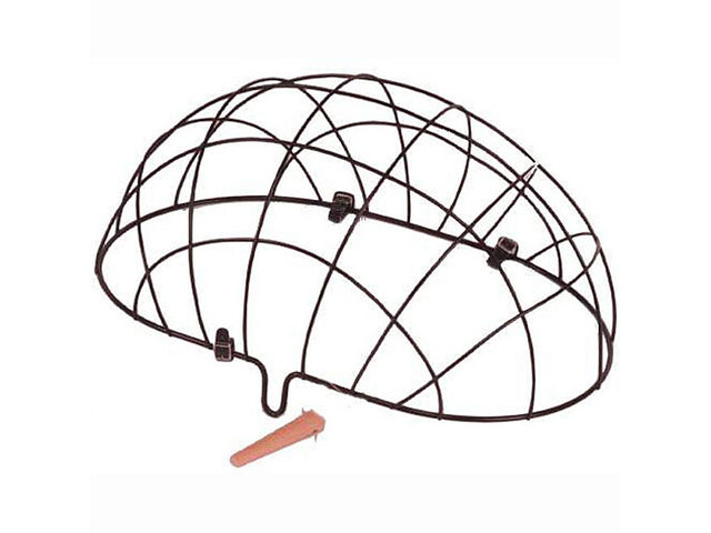 Basil Pluto Forhjulskurv t. dyr med mesh, black